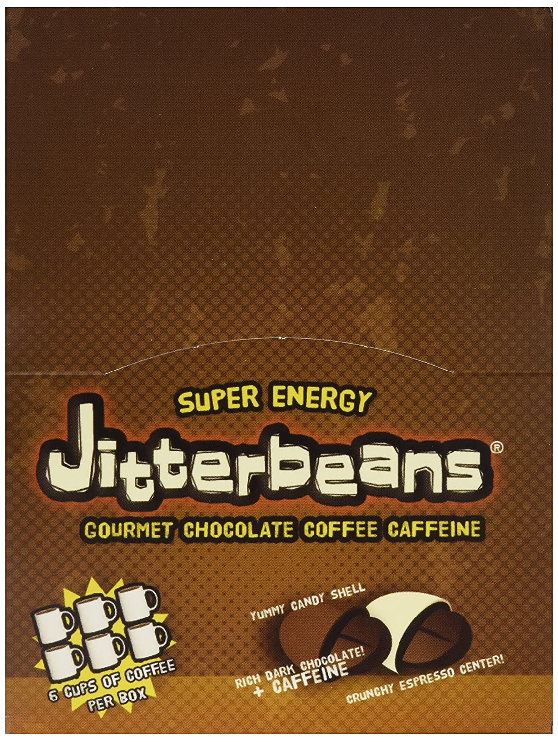 Amazon.com : Jitterbeans Candy Coated Chocolate Covered Coffee ...