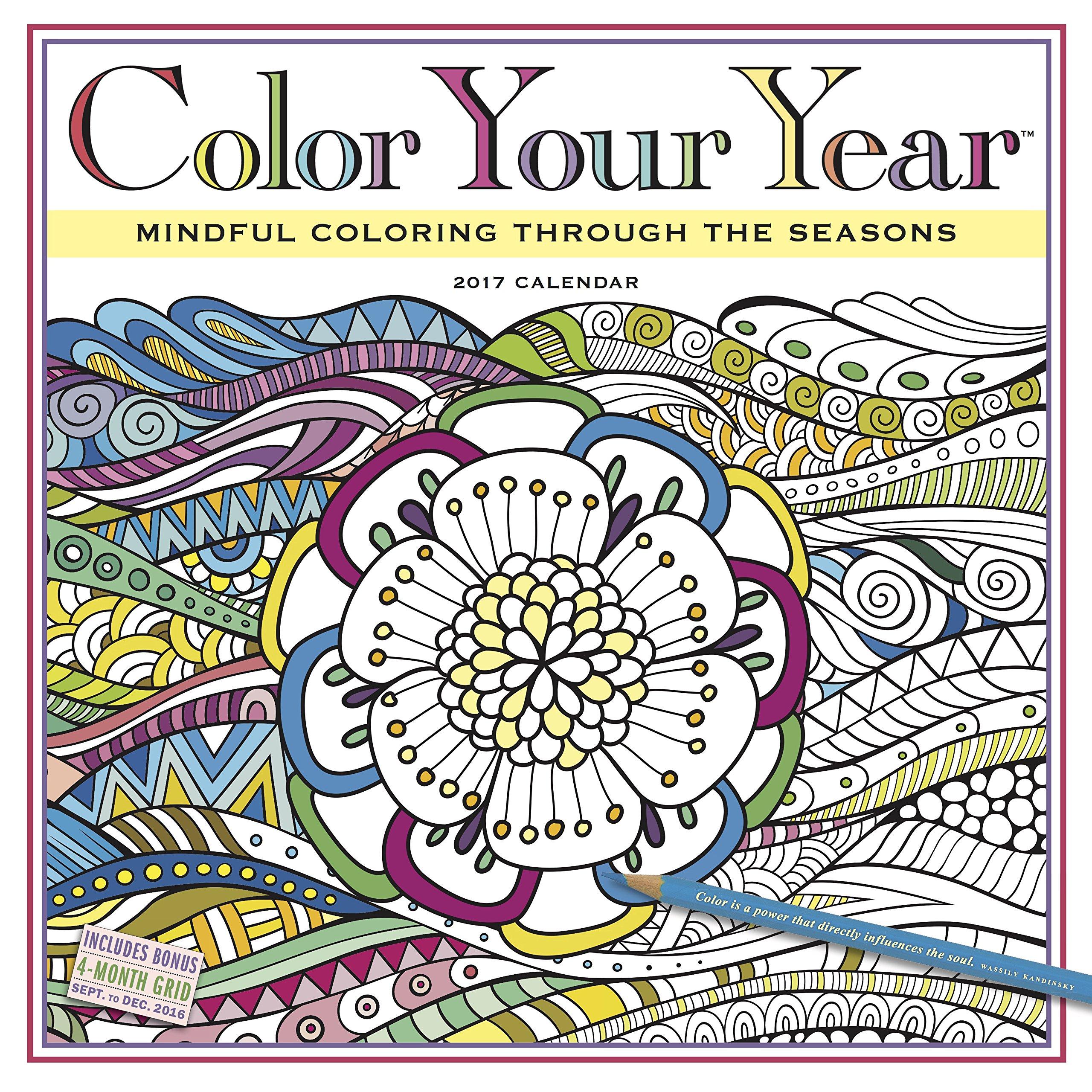 A1m06VbfSxL color your year wall calendar 2017 workman publishing on 2016 2017 academic calendar template