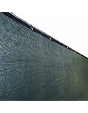 ALEKO® 6' x 25' Dark Green Fence Privacy Screen Outdoor Backyard Fencing Privacy Windscreen Shade Cover Mesh Fabric