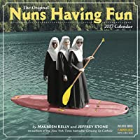 Nuns Having Fun Wall Calendar 2017