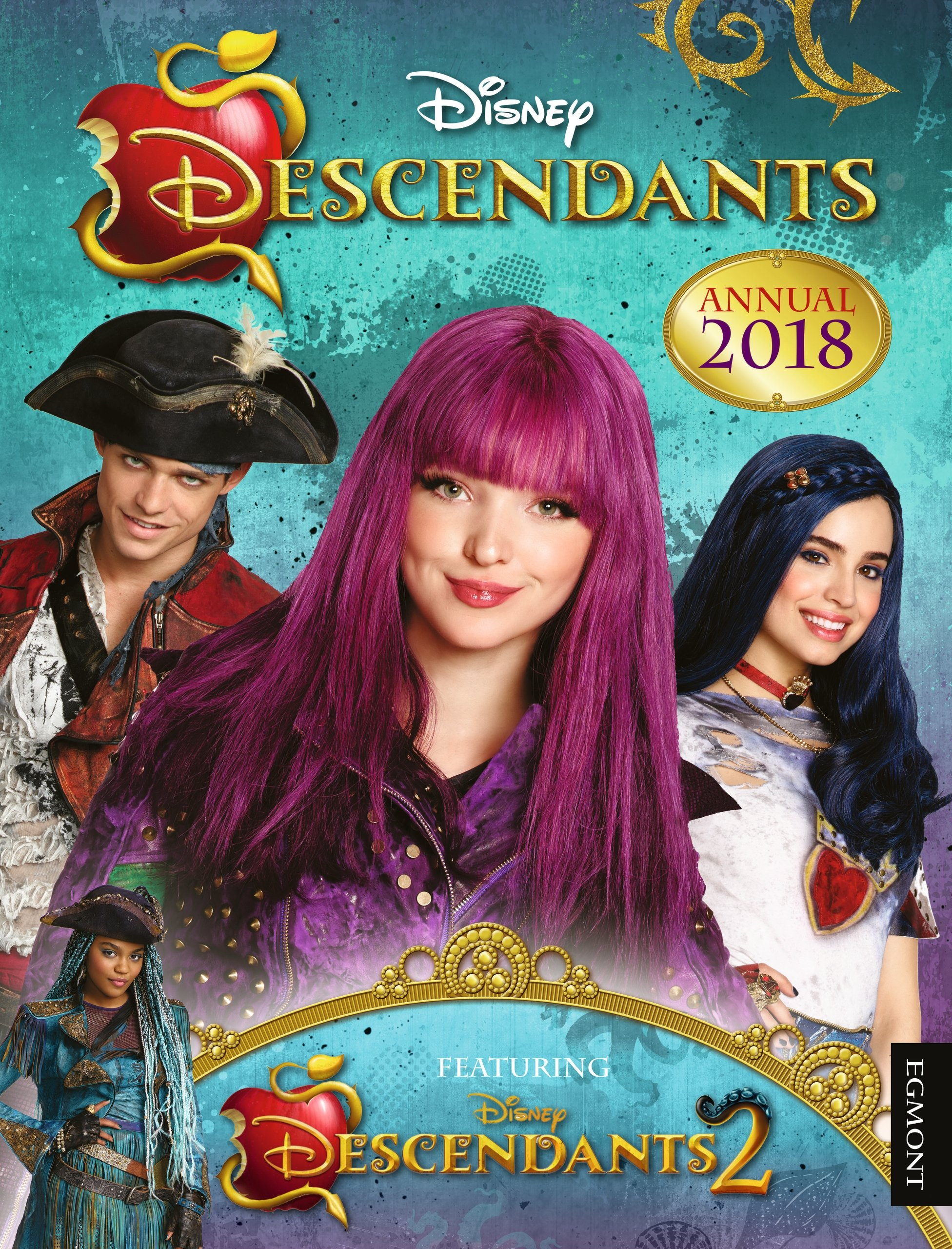 Disney Descendants Annual 2018 Egmont Annuals