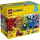 LEGO - 10715 - Classic - Jeu de Construction - la Boîte de Briques et de Roues LEGO