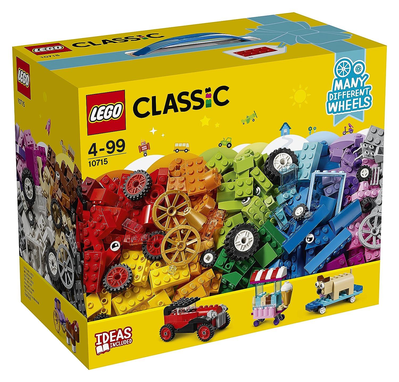 LEGO Classic Lego Ladrillos sobre ruedas