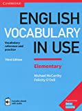 English Vocabulary in Use Elementary Book with Answers and Enhanced eBook: Vocabulary Reference and Practice