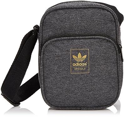 adidas Originals Mini Bag Jersey, Pochette Gris (BrgrfoNoirOrmeta)