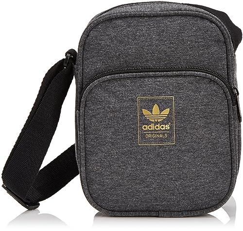 c7ed59aca adidas Originals Mini Bag Jersey - Cartera de mano para hombre, Gris (Gris  (Brgrfo/Noir/Ormeta)), Taille Unique: Amazon.es: Zapatos y complementos