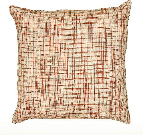 Rizzy Home T06525 Decorative Pillow, 22 X22 , Cream