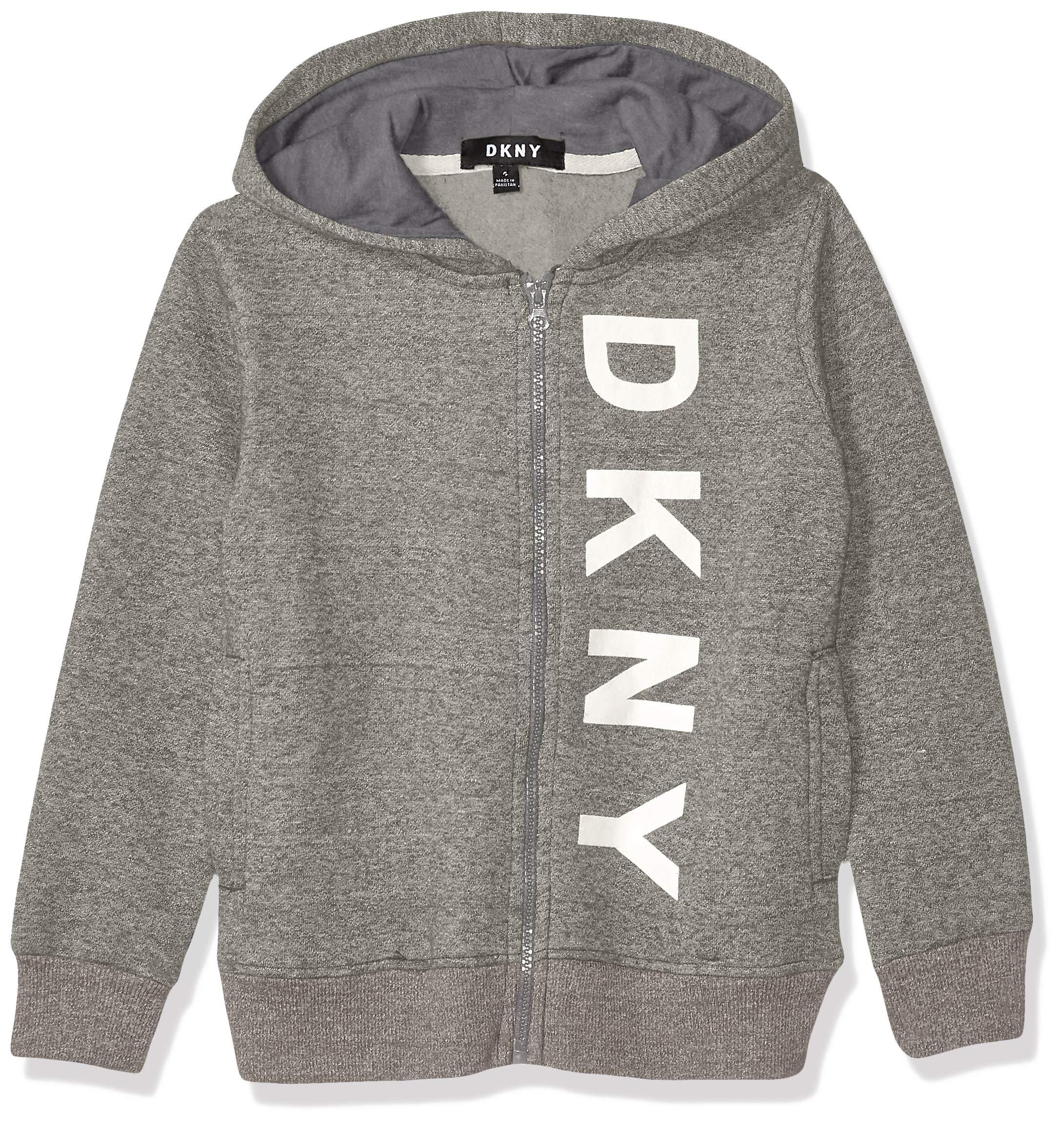 DKNY Boys' Fleece Zip Hoodie