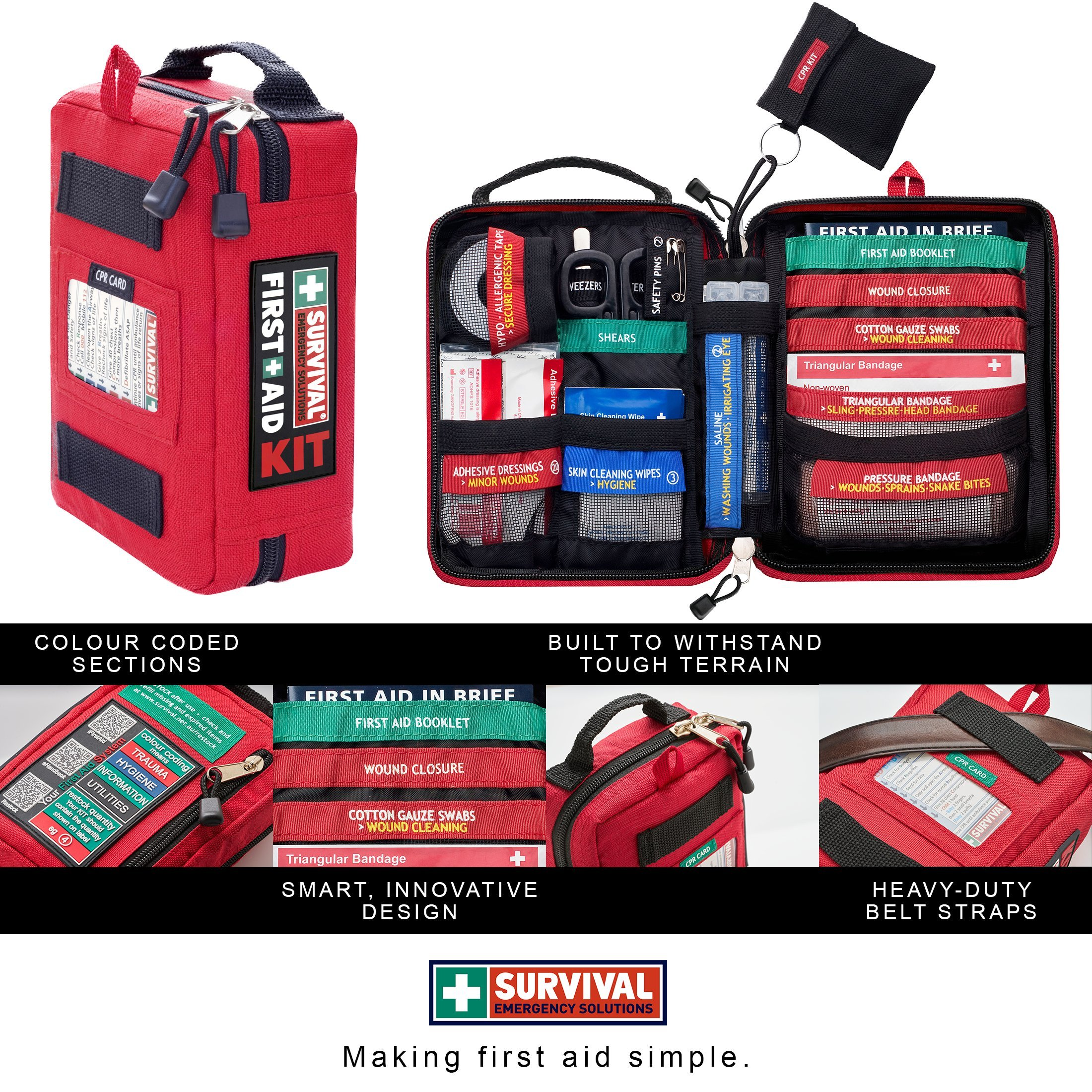 survival Handy First Aid Kit by survival