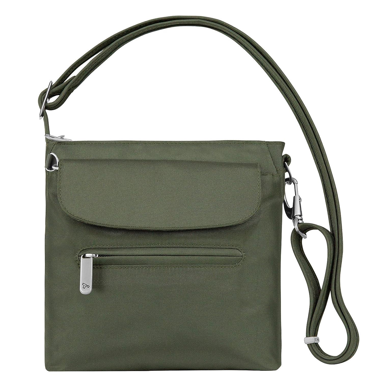 Travelon 42459-150 Anti-Theft Classic Mini Shoulder Bag, Purple, One Size TRBO3