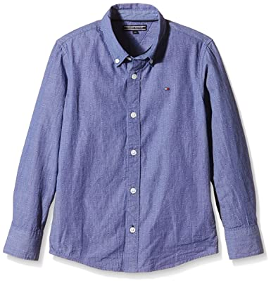 Tommy Hilfiger Denim Shirt L//S Camicia Bambino