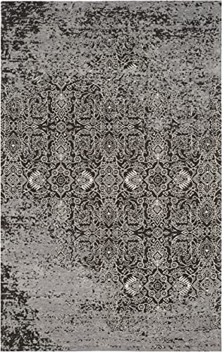 Safavieh Classic Vintage Collection CLV224B Silver and Brown Area Rug 3 x 5