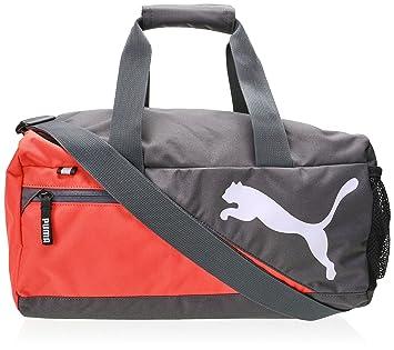 Puma Fundamentals Sports Bag Pink Cayenne Size 40 x 19 x 20 cm a44f664064844