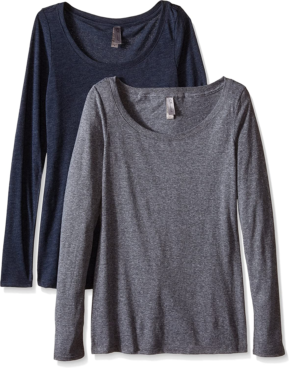 Clementine Apparel 2 Pack Long Sleeve Ne Reservation T Tag Shirts Scoop Easy Max 78% OFF