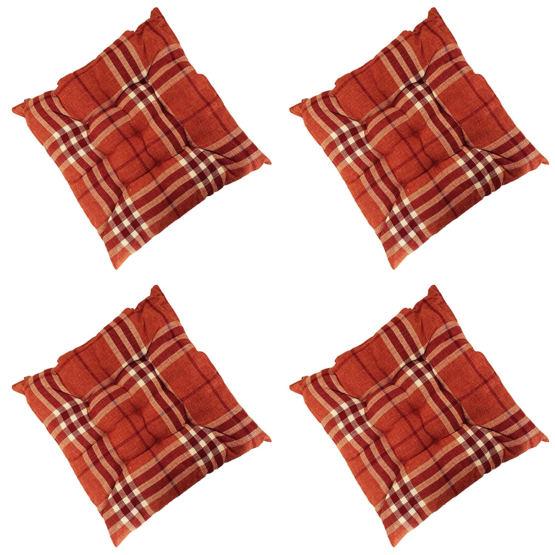 Corbata de cuadros escoceses para asiento de silla (algodón para ...