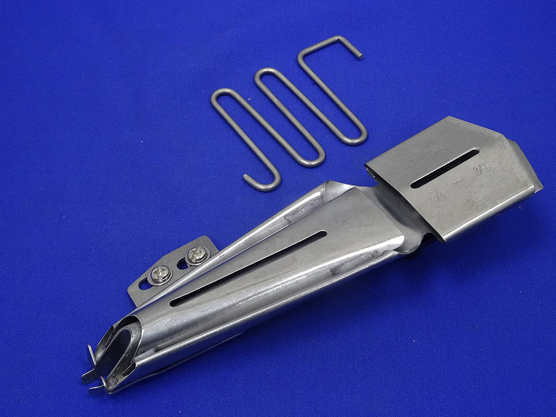 Industrial, máquinas de punto de cintas al bies carpeta de, pie, cinta tamaño 1 3/4