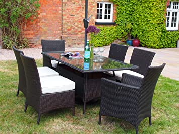 Prepossessing Barcelona Rectangular Grey Rattan Garden Furniture Table And   With Goodlooking Barcelona Rectangular Grey Rattan Garden Furniture Table And  Chairs  Dining Set With Awesome Majestic Gardens Also Flower Garden Ideas Beginners In Addition Gardening Jobs West Midlands And What Do You Feed Hedgehogs In Your Garden As Well As  Seater Rattan Garden Furniture Sets Additionally Gardening Seat For Elderly From Amazoncouk With   Goodlooking Barcelona Rectangular Grey Rattan Garden Furniture Table And   With Awesome Barcelona Rectangular Grey Rattan Garden Furniture Table And  Chairs  Dining Set And Prepossessing Majestic Gardens Also Flower Garden Ideas Beginners In Addition Gardening Jobs West Midlands From Amazoncouk
