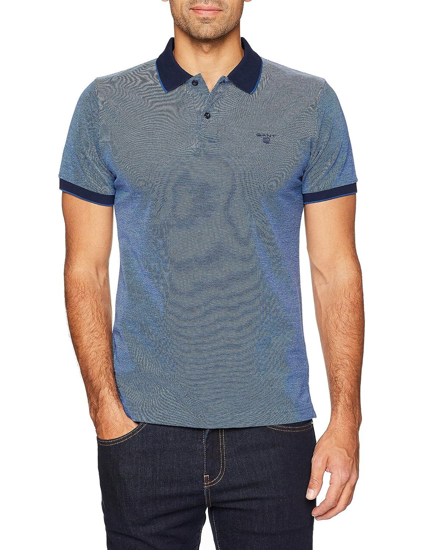 Bleu (Persian bleu 423) S Gant Polo Homme