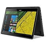 Acer Aspire R 15 - Ordenador portátil convertible de 13.3'' Full HD (Intel Core i3, 4 GB de RAM, 128 GB SSD, UMA, Windows 10), negro