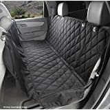 4Knines Dog Seat Cover With Hammock for Cars, Trucks and SUVs - USA Based