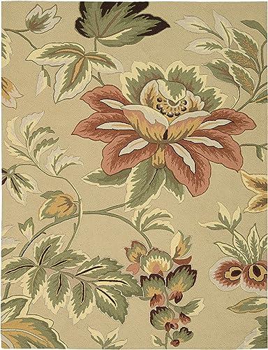 Rug Squared Laurel Floral Area Rug