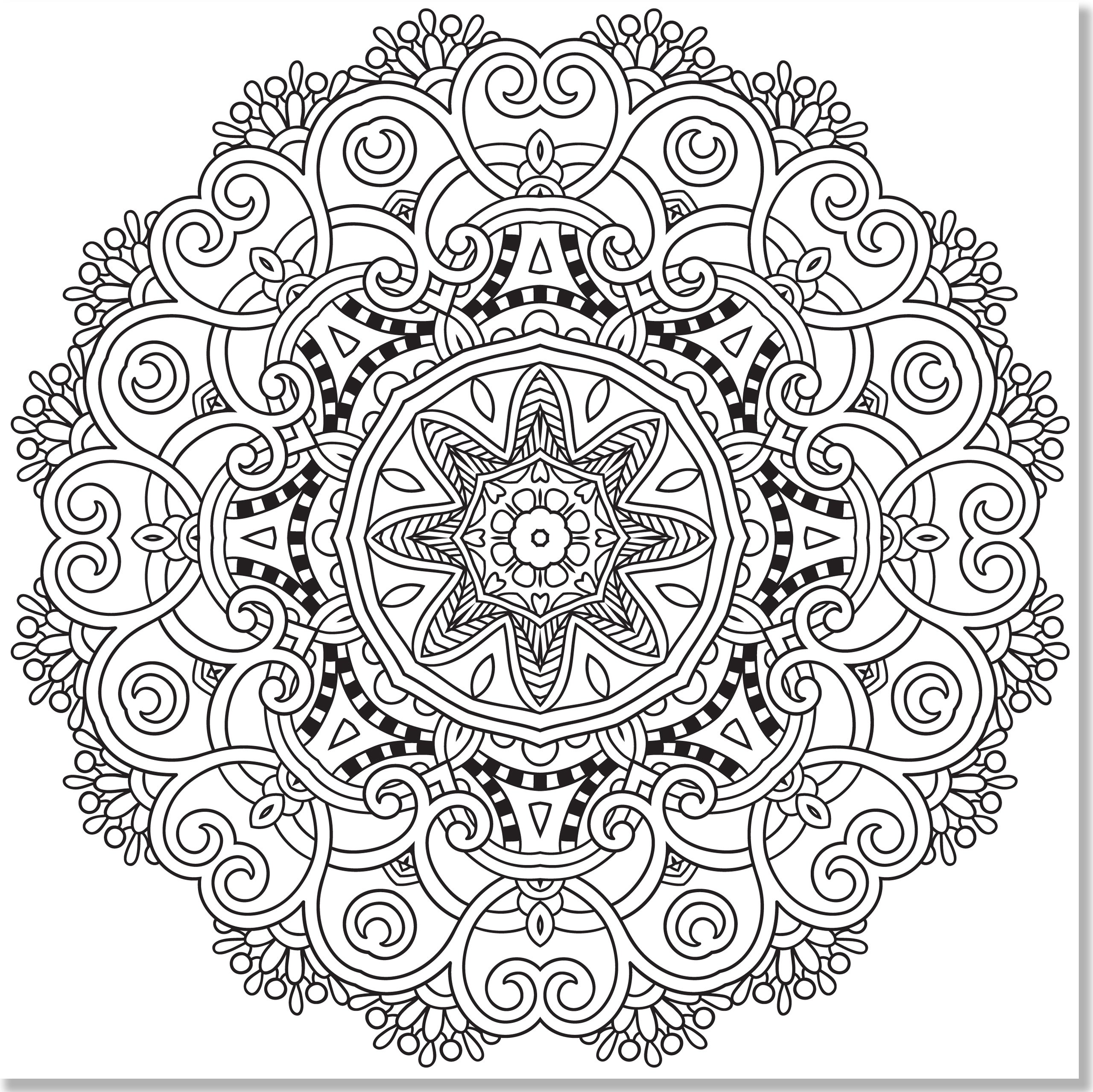 Mandala coloring pages amazon - Amazon Com Mandala Designs Adult Coloring Book 31 Stress Relieving Designs Studio 9781441317445 Peter Pauper Press Books