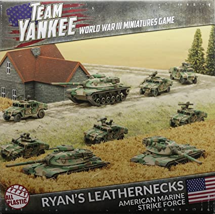 Amazon Team Yankee United Statesryans Leathernecks Army Box