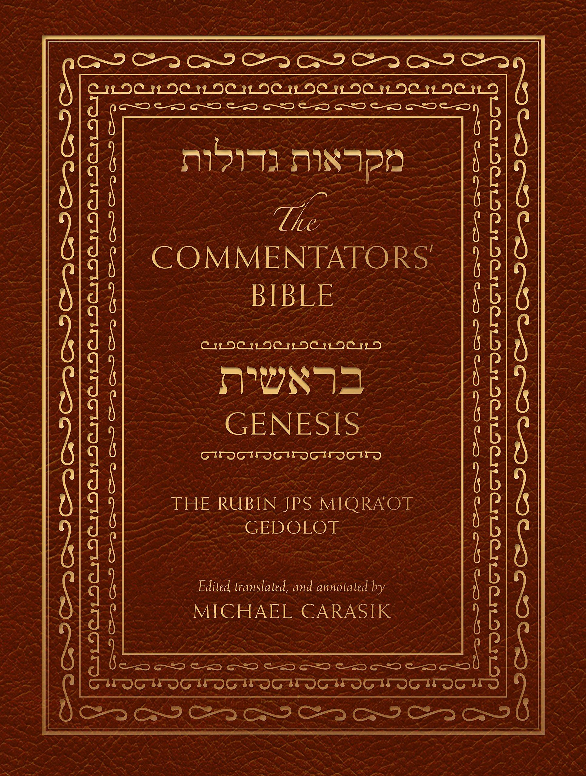The Commentators' Bible  Genesis