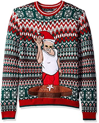 0d8f876d154 Blizzard Bay Men s Salty Santa Ugly Christmas Sweater at Amazon Men s  Clothing store