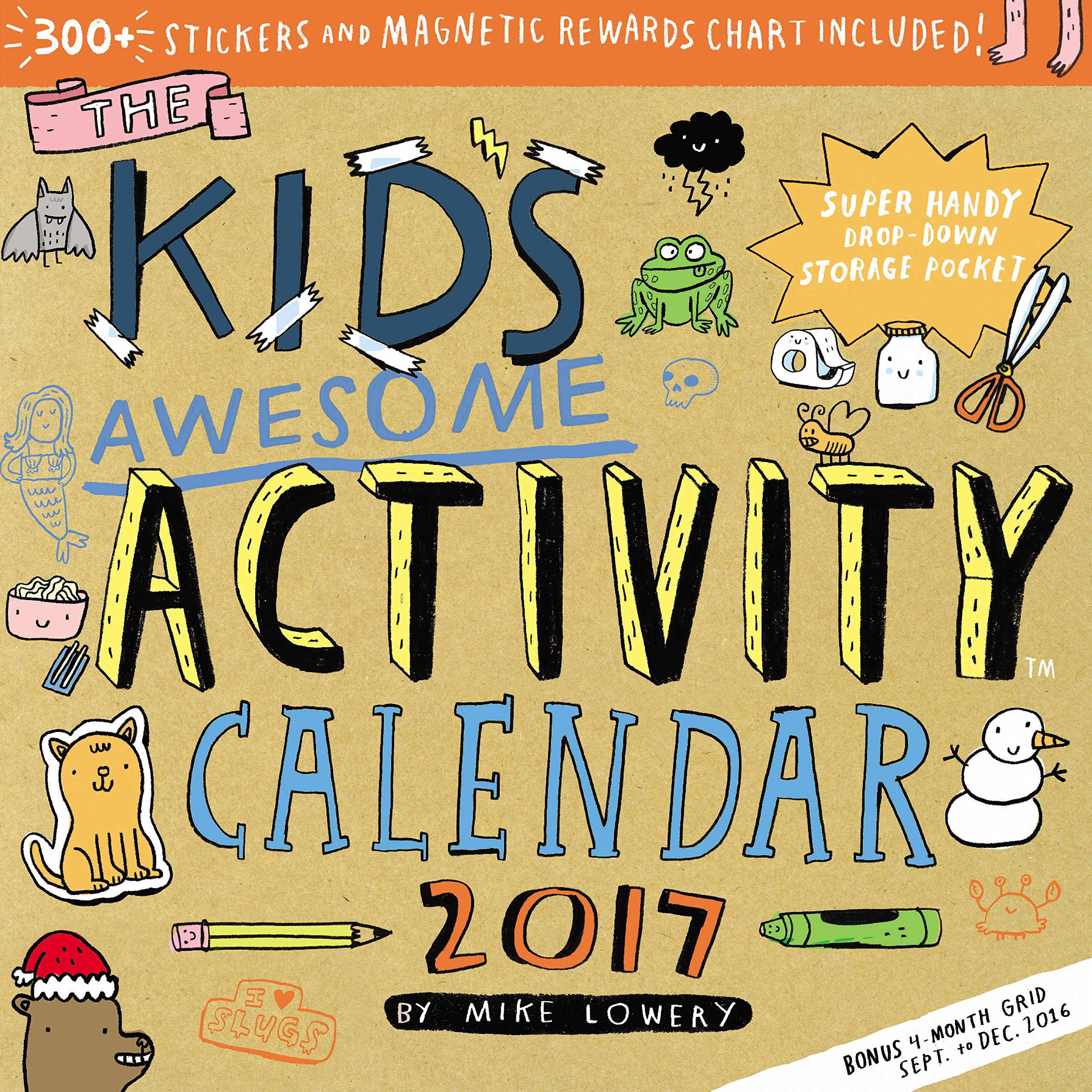Kids Awesome Activity Wall Calendar product image
