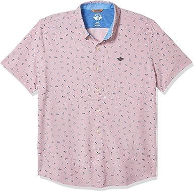 Dockers Mens Short Sleeve Smart 360 Ultimate Button Up Flex Shirt: Amazon.es: Ropa y accesorios