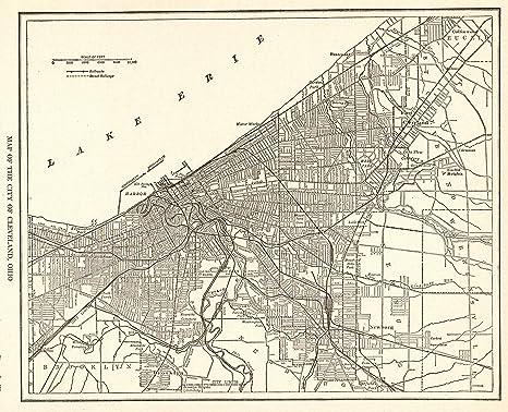 Amazon.com: 1927 Antique Cleveland Map Original Vintage Map ... on geneva map, cleveland cavaliers, san diego map, state map, ohio map, detroit map, cleveland browns, blairsville ga map, cincinnati map, cuyahoga county map, great lakes map, case western reserve university, florida map, cleveland indians, pittsburgh map, galveston map, atlanta map, kansas city map, clevland on a map, miami map, st. louis map, lake erie, rock and roll hall of fame, pennsylvania map, tampa map, massachusetts map,