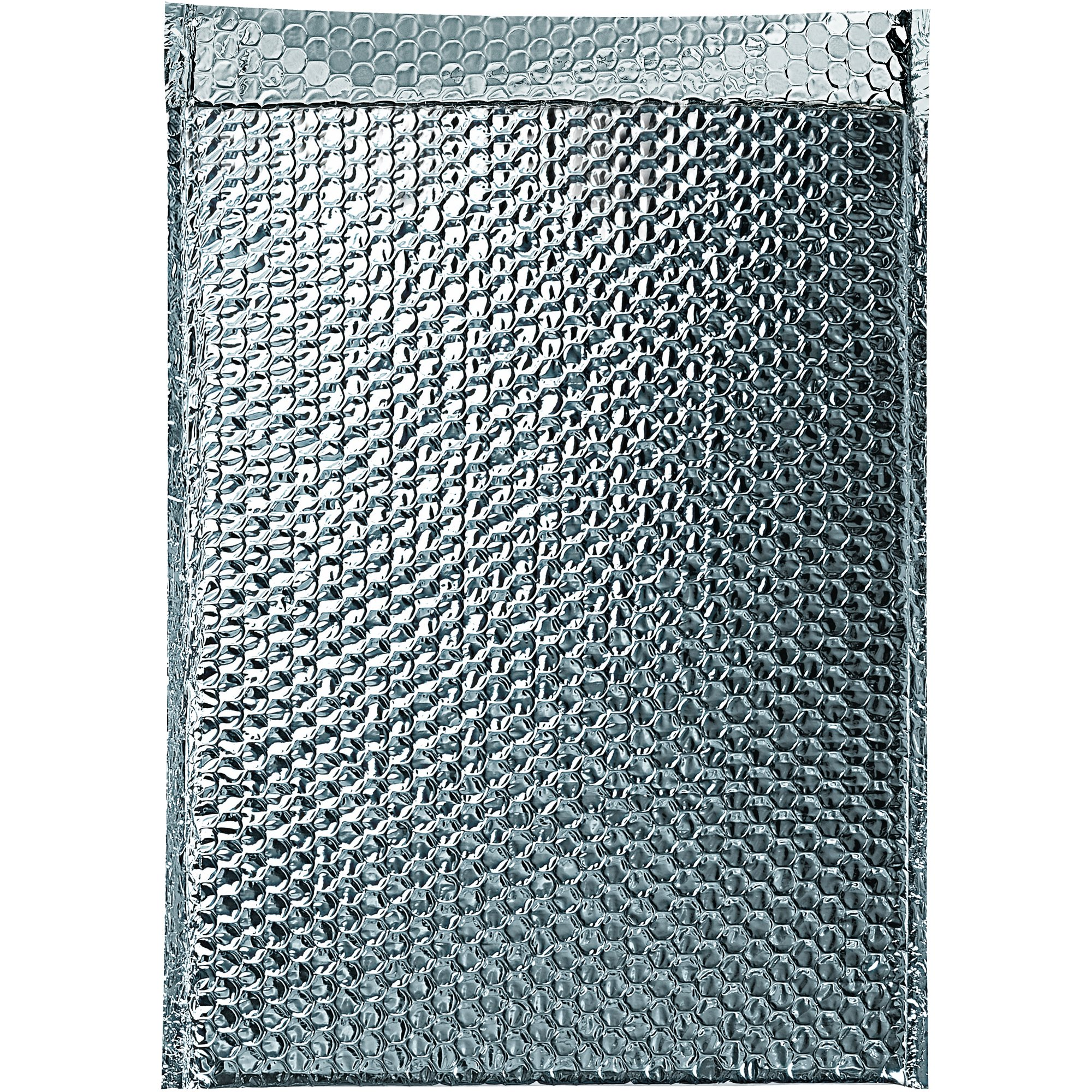 Boxes Fast BFINM1217 Cool Shield Insulated Bubble Mailers, 12'' x 17'', Silver (Pack of 50)