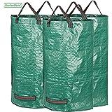 GardenMate® 3x sac de déchets de jardin 120L