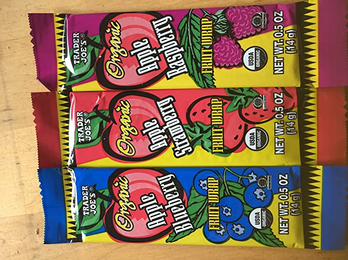 Trader Joes Fruit Wrap- Variety Pack of 12