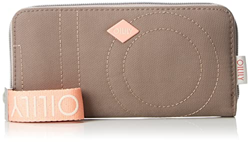 Oilily - Spell Purse Lh15z, Carteras Mujer, Beige (Taupe), 1x9x19 cm