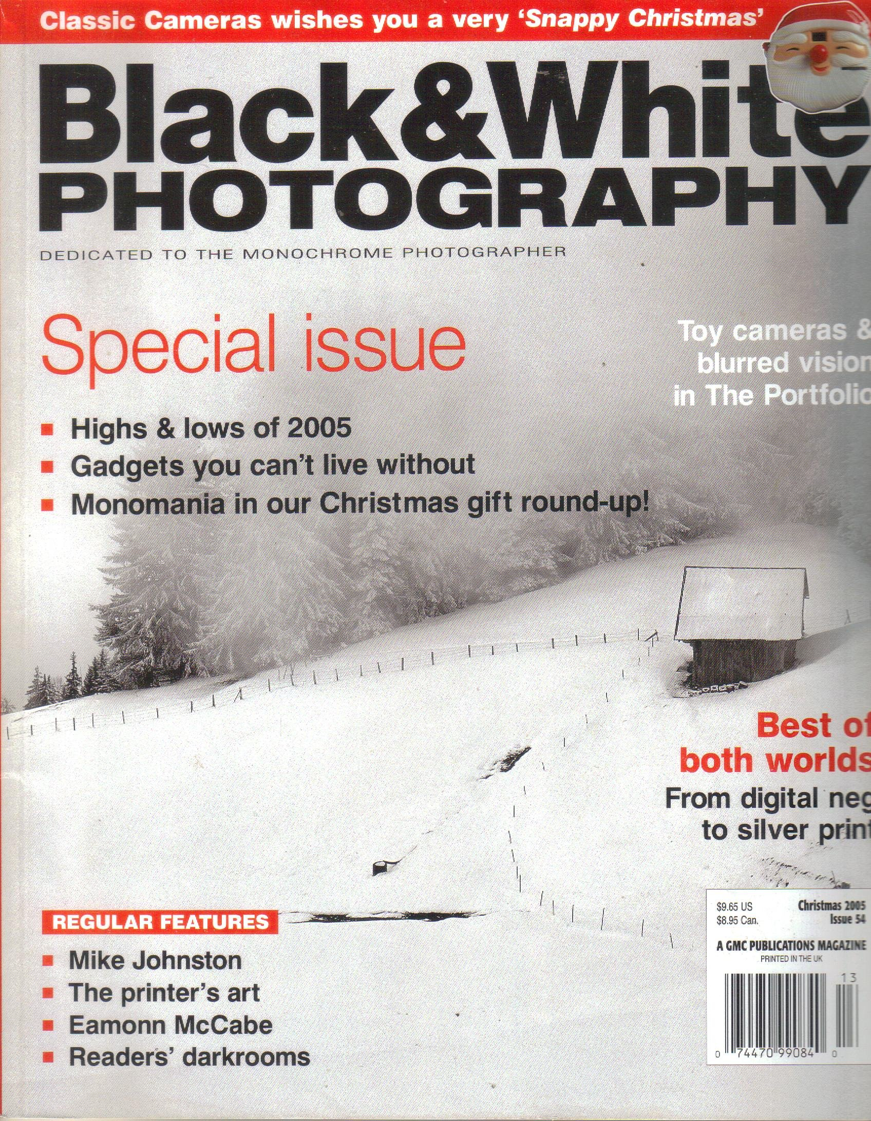Black & White Photography Magazine, Issue 54, (Christmas/Winter, 2005)