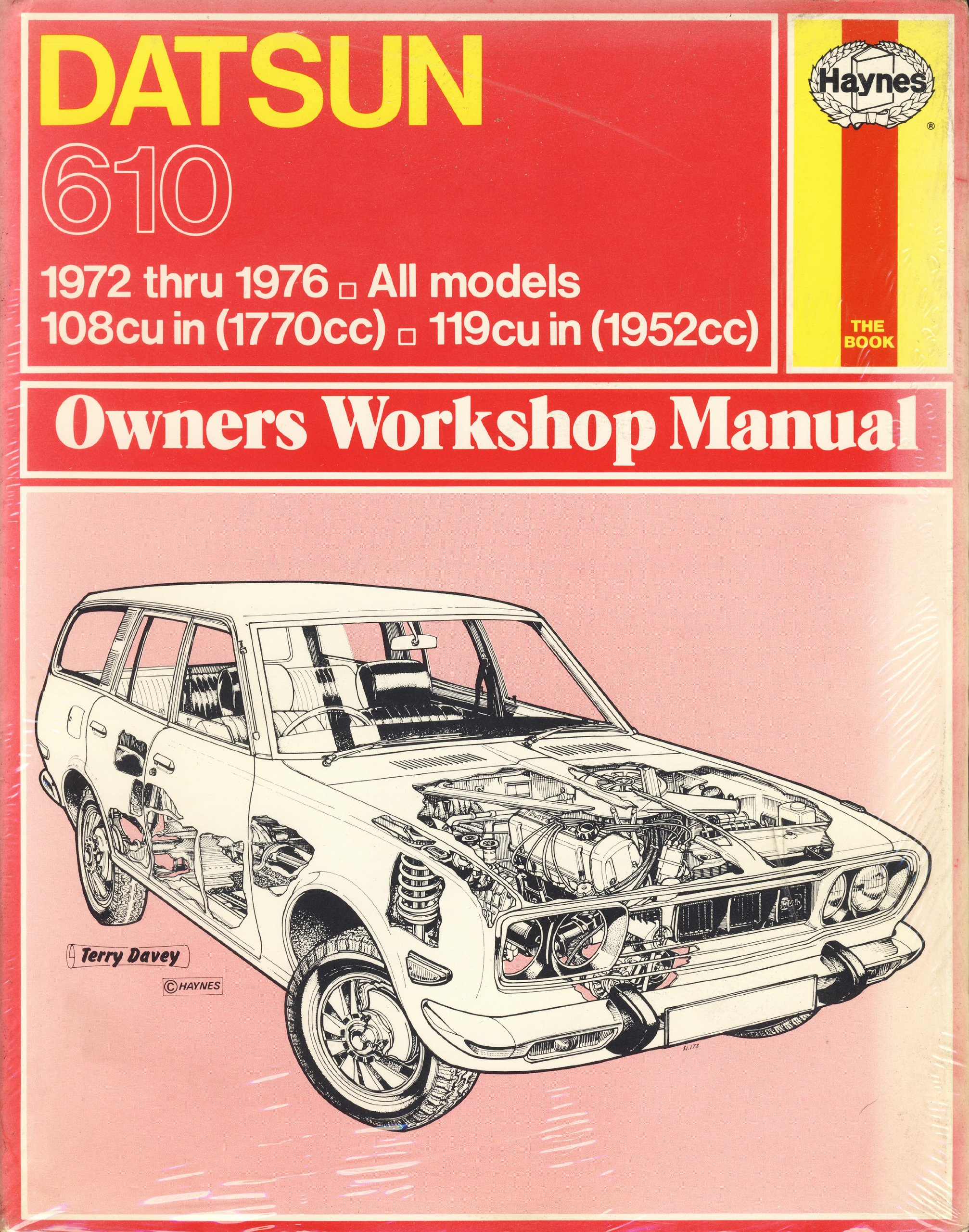 Haynes Datsun 610 Owners Workshop Manual: 1972 - 1976: John Harold Haynes:  9781850101314: Amazon.com: Books