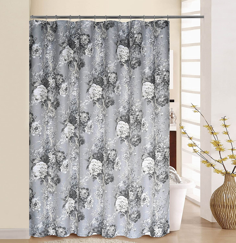 70x72, WAVERLY BOHSCH00LBL Boho Passage Shower Curtain Set