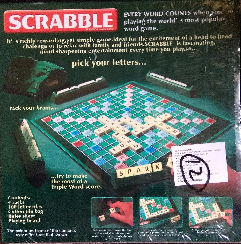 buy sudiksha scrabble crossword puzzle game 4 word racks 100