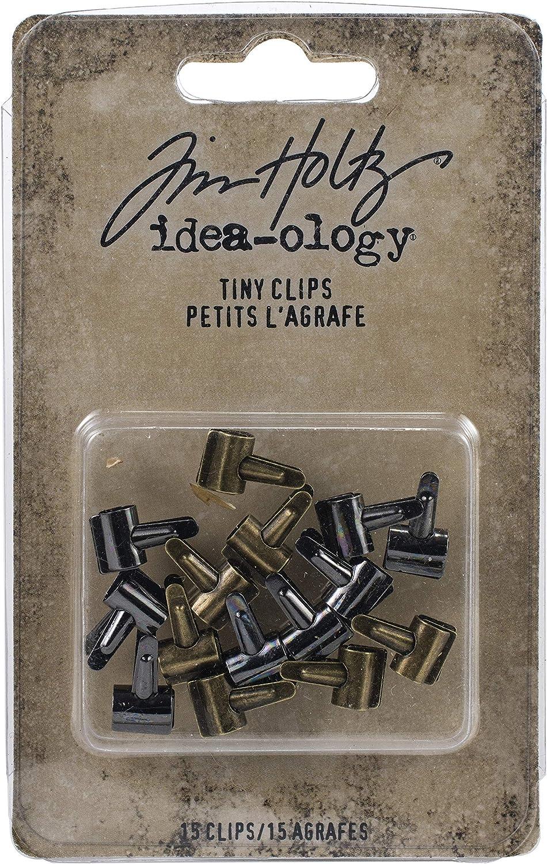Tim Holtz Advantus TINY CLIPS IDEA-OLOG 15//PKG