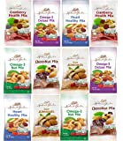 Healthy Premium Assorted Nuts and Fruits Snack Mix Sampler Variety Pack, Good for the Heart (12 Count)