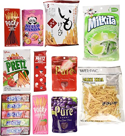 Japanese Cl Ic Candy Co Es And Snack Japanese Co Es  Packs