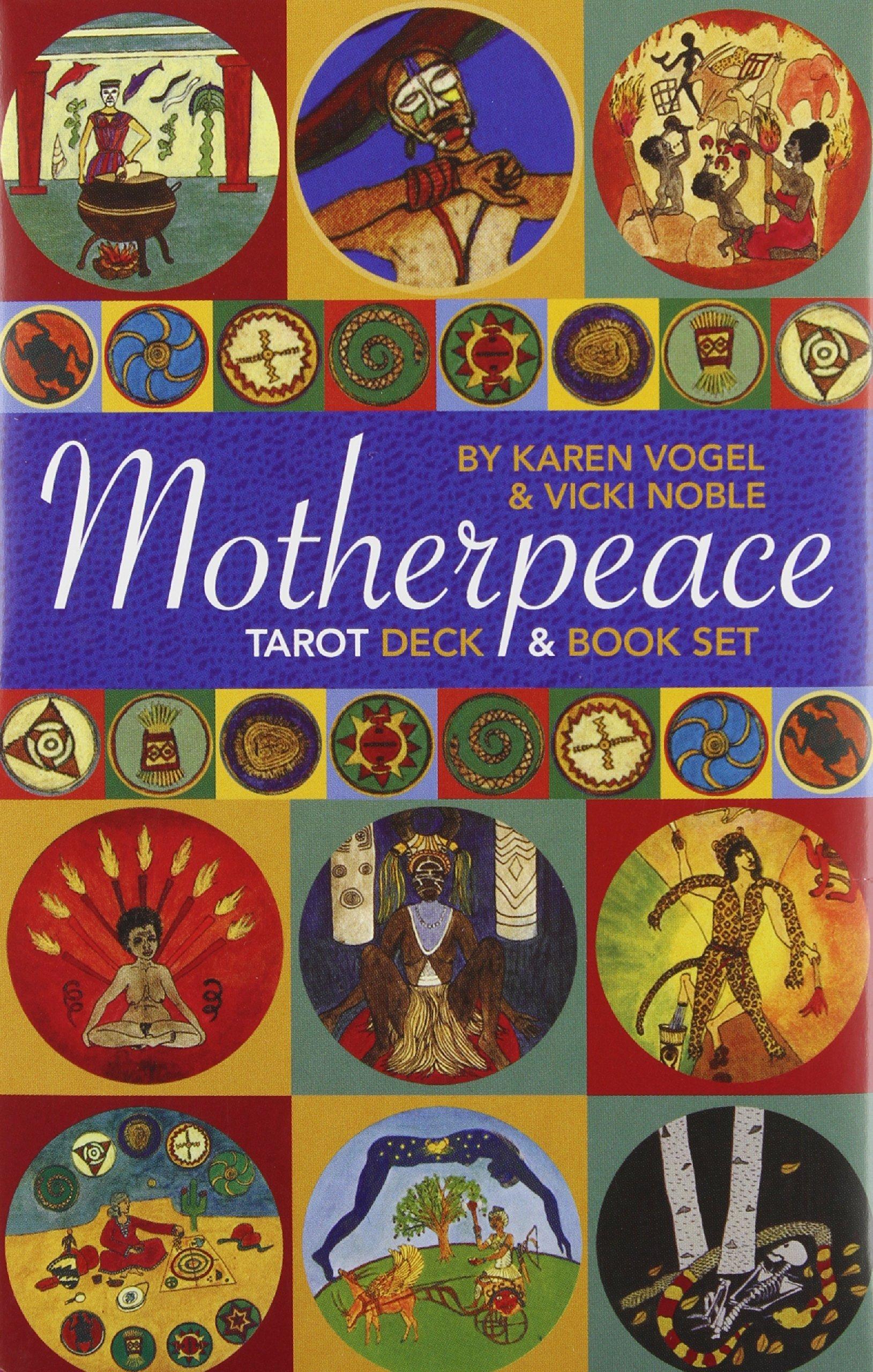 Motherpeace Tarot Deck and Book set