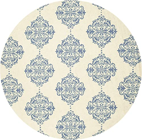 Safavieh Chelsea Ivory Blue Large Rectangle Rug