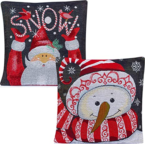 Custom Pillow Cover Snowman Pillow Cover Christmas Pillow Cover CHRISTMAS PILLOW COVER Christmas Throw Pillow Holiday Pillow Cover