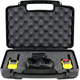 Life Made Better Storage Organizer - Compatible with Motorola MH230R 23-Mile Range 22-Channel FRS/GMRS Two-Way Radio And Accessories - Durable Carrying Case - Black