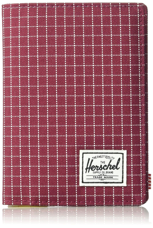 [ハーシェル]Raynor Passport Holder RFID B06XD4J4ZX Windsor Wine Grid Windsor Wine Grid