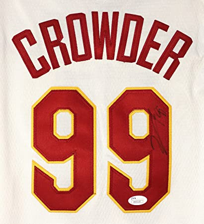 the latest 9c963 59999 Jae Crowder Cleveland Cavaliers Signed Autographed White #99 ...