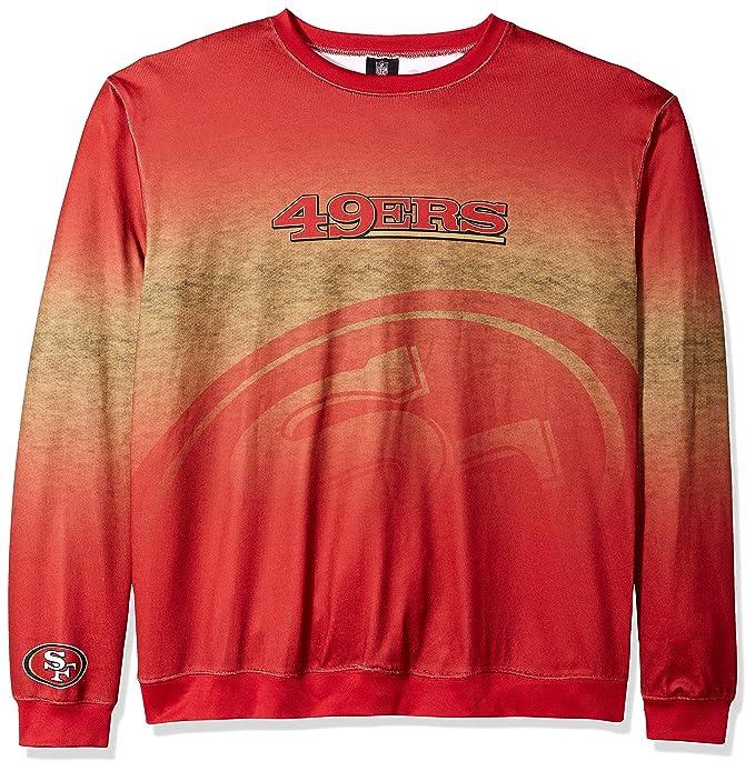 cdebf0d9 San Francisco 49ers Big Logo Ugly Crew Neck Sweater Extra Large